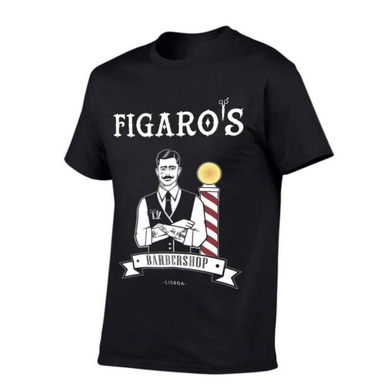 Figaros Classic TShirt Black