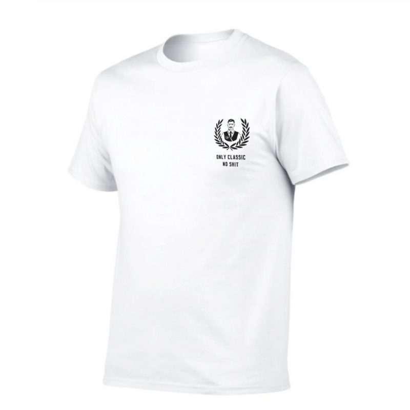 Onlyclassicnoshit T Shirt White