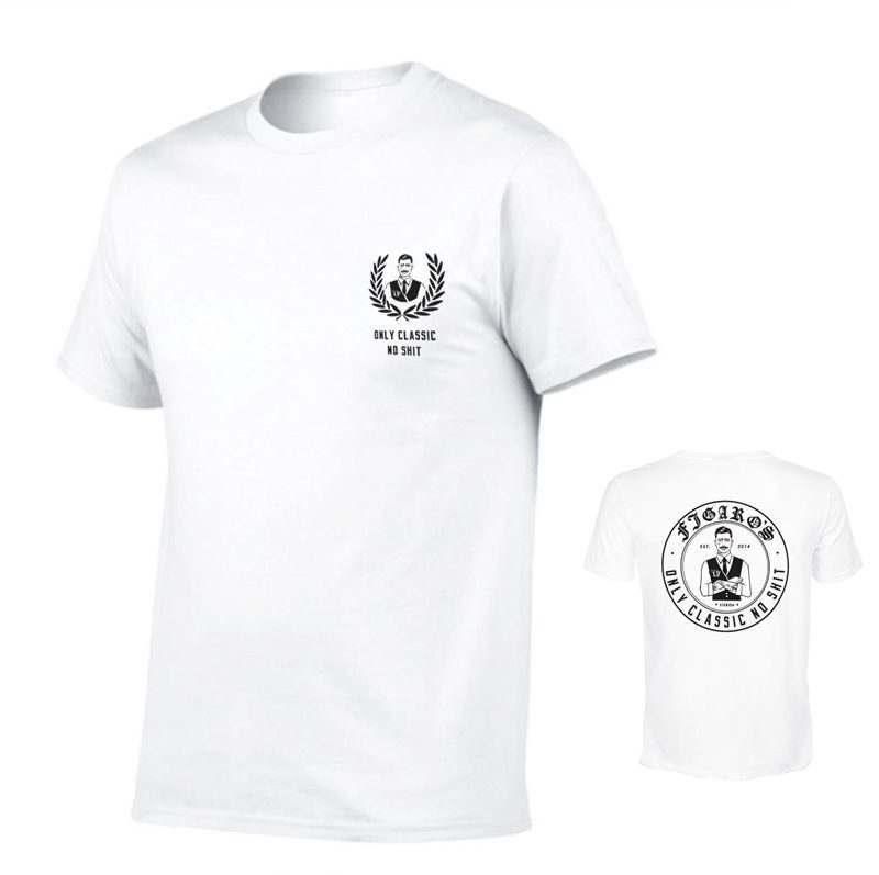 Figaros Tshirt Only Classic No Shit Branca