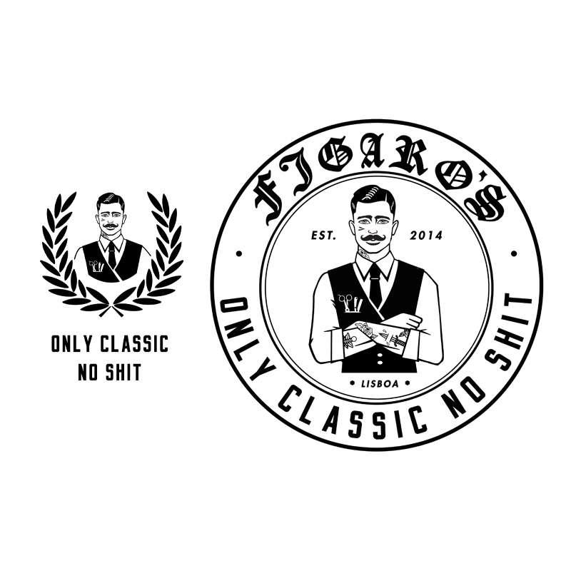 Onlyclassicnoshit White Logos