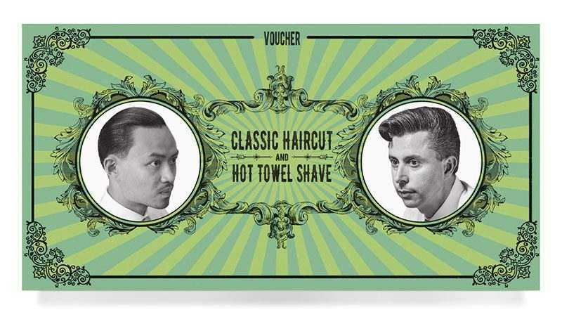 Figaros Voucher Classic Haircut and Hot Towel Shave