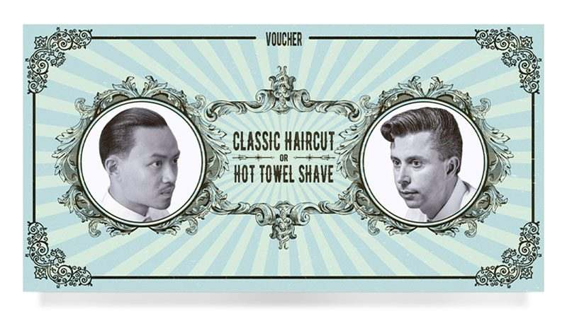 Figaros Voucher Classic Haircut or Hot Towel Shave