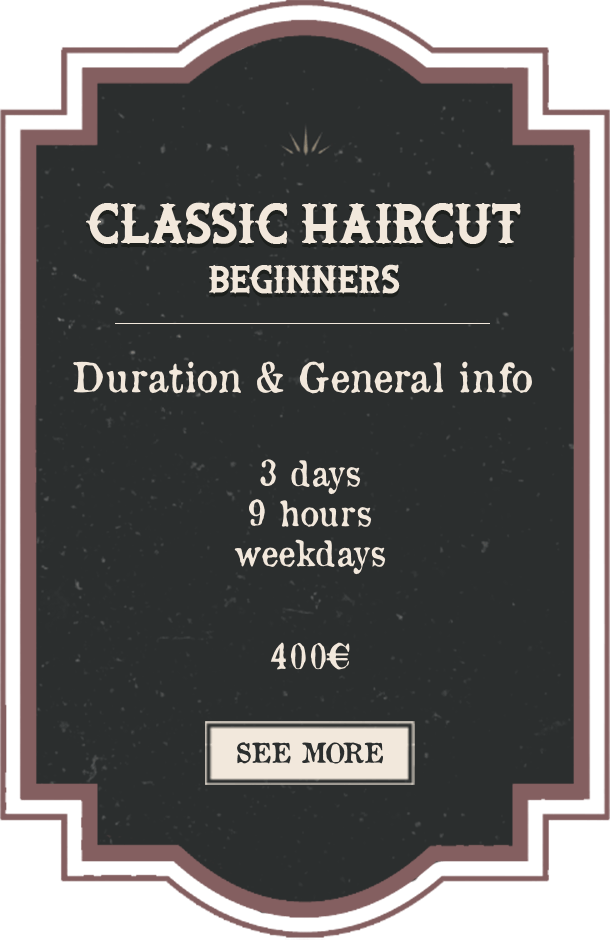 Classic Haircut Beginners English