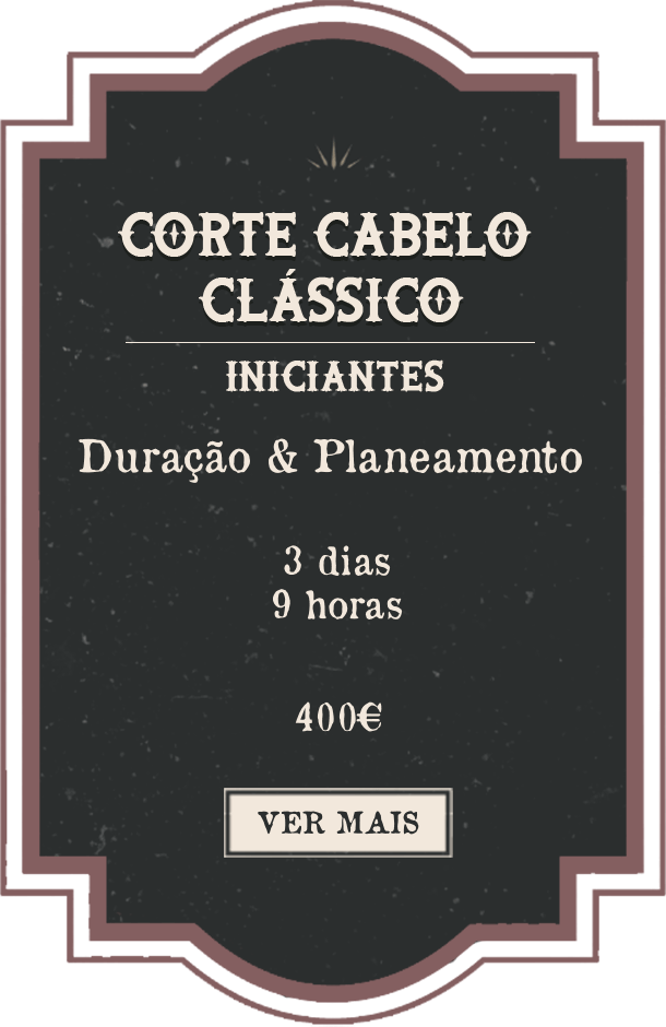 Classic Haircut Beginners Portuguese