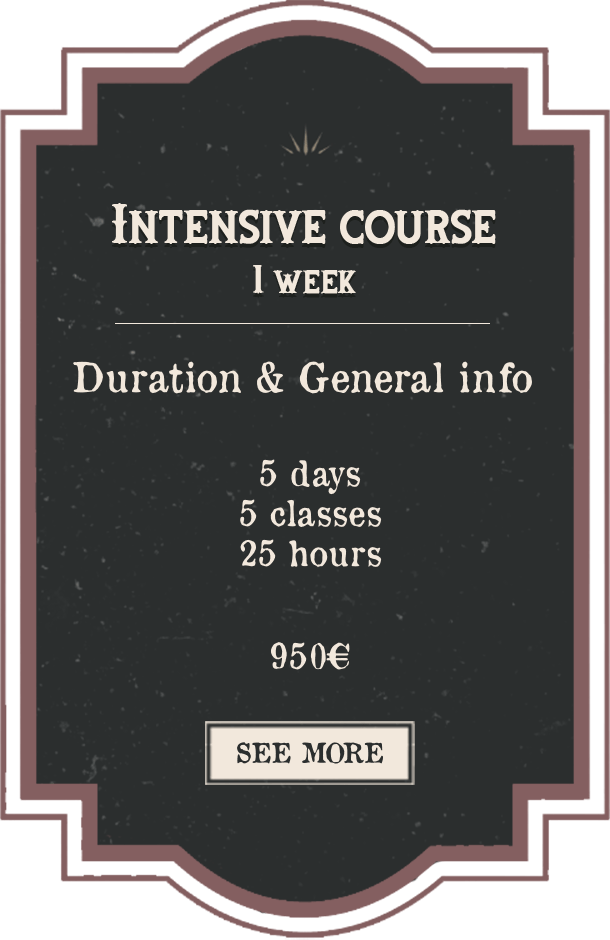 Intensive Course 1 Week English