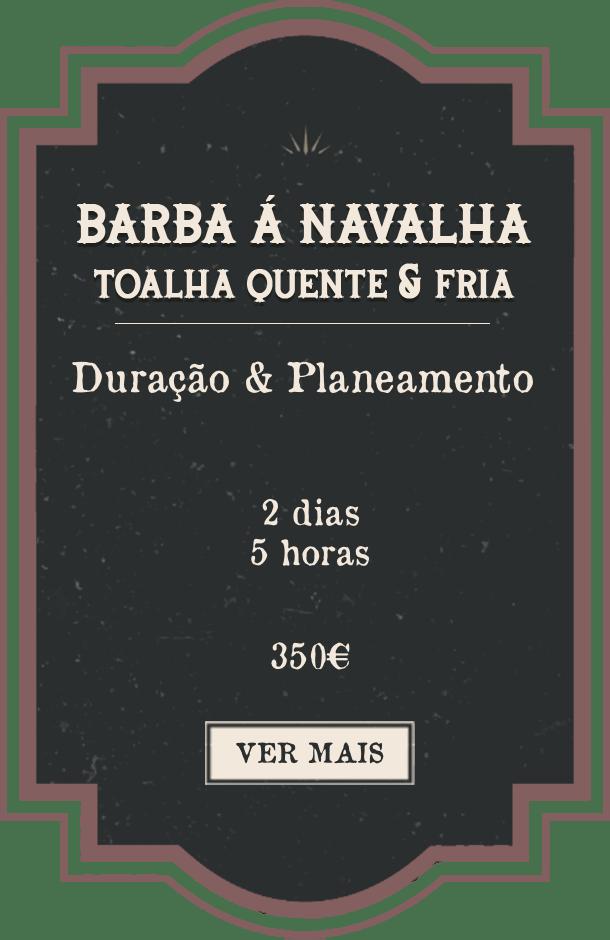Shave & Beard Trim Portuguese
